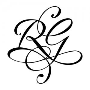 Modèles de tatouage, deux lettres pour le poignet