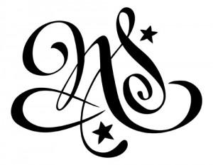 modèle de tatouage deux lettres