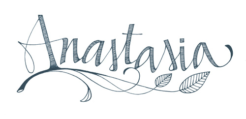 Tatouages pr noms tatouages - Coloriage anastasia ...